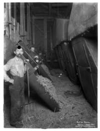 Boiler room of Earles Cleary mill