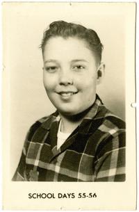 School portrait of young man