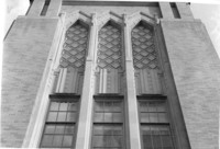 1943 Campus School Building, Detail Above Main Entrance