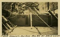 Lower Baker River dam construction 1925-04-23 Concrete Surface Run #82 El.241.0