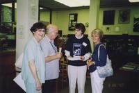 2007 Reunion--Anne (Morey) Hildebrand, Jim Hildebrand, Marian Alexander and Florence (Winsor) Helliesen in Special Collections