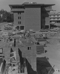 1968 Miller Hall: Construction