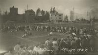 1927 Campus Day: Crab Walk Race