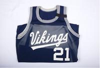Basketball (Men's) Jersey:  #21, Manny Kimmie, 1990