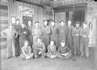 Diehl and Simpson work crew