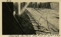Lower Baker River dam construction 1925-07-07 Concrete Surface Run #154 El.3595