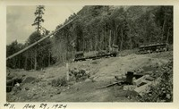 Lower Baker River dam construction 1924-08-29 Site preparation
