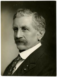 Studio portrait of Harry Finley