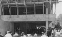 1959 Haggard Hall: Cornerstone Dedication
