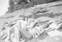 Sunbathing
