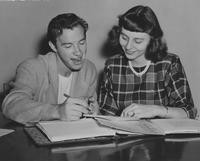 1948 Homecoming Co-Chairmen: Harry Pagels and Ann Pearson
