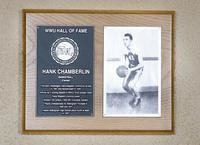 Hall of Fame Plaque: Hank Chamberlin, Men's Basketball (Center), Class of 2002