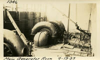 Lower Baker River dam construction 1925-09-13 Main Generator Room