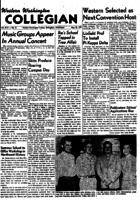 Western Washington Collegian - 1951 May 18