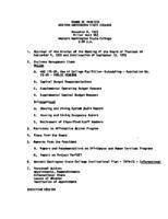 WWU Board minutes 1975 November