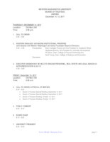WWU Board of Trustees Packet: 2017-12-14