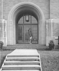 1943 Campus School Building Main Entrance