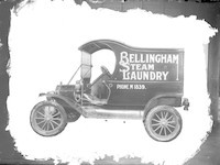 Bellingham Steam Laundry truck