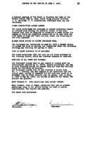 WWU Board minutes 1921 June
