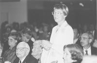 1993 Reunion--George Graham, Ann Kingsbury Jones-Richardson At Banquet
