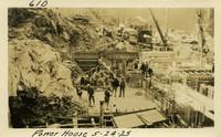 Lower Baker River dam construction 1925-05-24 Power House