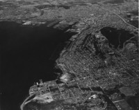 1962 Aerial View: Bellingham and Bellingham Bay