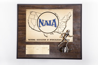 Track and Field (Women's) Plaque: NAIA District 1 Champions, 1983