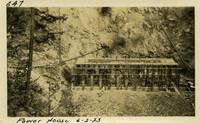 Lower Baker River dam construction 1925-06-02 Power House