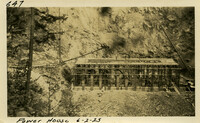 Lower Baker River dam construction 1925-06-02 Power House