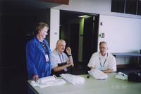 2007 Reunion--Patricia (Brown) Hood, Ray Taylor and Ralph Taylor