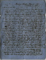 1861-02-06 Letter from M.L. Stangroom to his mother