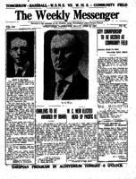 Weekly Messenger - 1922 April 28