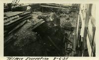 Lower Baker River dam construction 1925-08-06 Tail Race Excavation