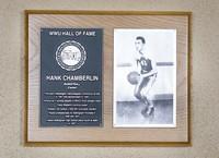 Hall of Fame Plaque: Hank Chamberlin, Men's Basketball (Center), Class of 2002