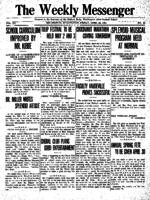 Weekly Messenger - 1921 April 15