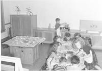 1943 Kindergarten Cooking
