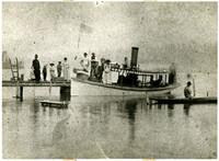 The 'Geneva' - First Steamboat on Lake Whatcom - 1888