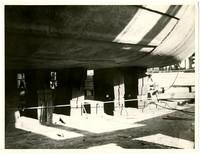 Unidentified scene - possibly a shipyard