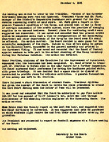 AS Board Minutes 1935-12