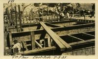 Lower Baker River dam construction 1925-07-03 4th Floor East Side