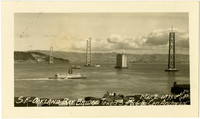 San Francisco - Oakland Bay Bridge under construction