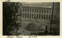 Lower Baker River dam construction 1925-08-07 Power House