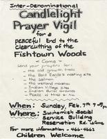 Candlelight Prayer Vigil