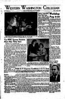 Western Washington Collegian - 1948 August 7