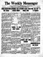 Weekly Messenger - 1923 May 25