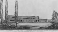 1948 Fine Arts Building: Architect's Photostat