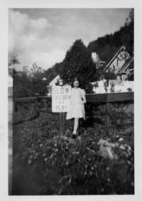 1946 Judy Templin At Myrna Dahl's