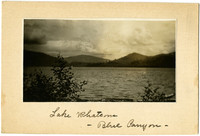Lake Whatcom with Blue Canyon