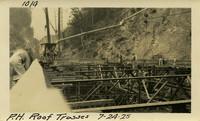 Lower Baker River dam construction 1925-07-24 P.H. Roof Trusses