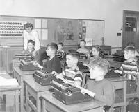 1948 They Learn To Type Early